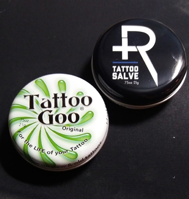 tattoo salve & tattoo goo